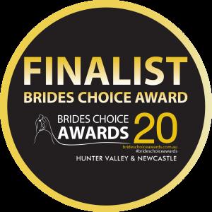 Brides Choice Awards Finalist